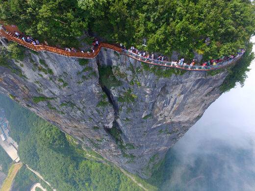 East Taihang Glasswalk – Changzhi, China - Atlas Obscura