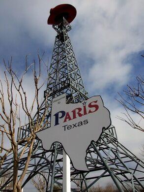 Texas Eiffel Tower – Paris, Texas - Atlas Obscura