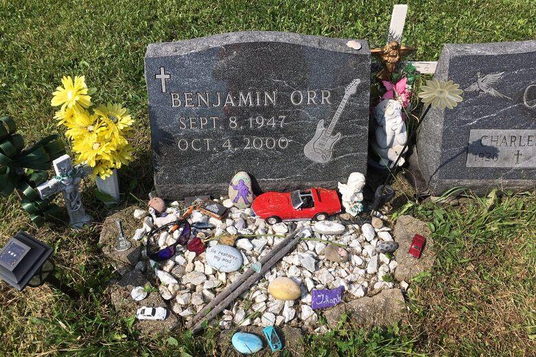 Benjamin Orr's Grave