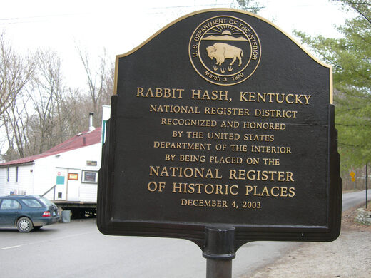 Rabbit Hash Burlington Kentucky Atlas Obscura