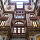 The beautiful Art Nouveau Galleria Sciarra.