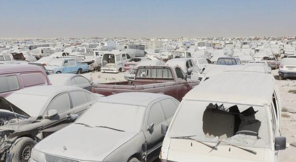 Al Wukair Scrapyard – Qatar - Atlas Obscura