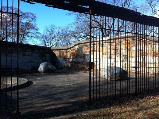 Old Franklin Park Zoo Bear Pens Boston Massachusetts Atlas Obscura