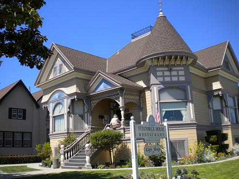 The Steinbeck House Restaurant in Salinas, California