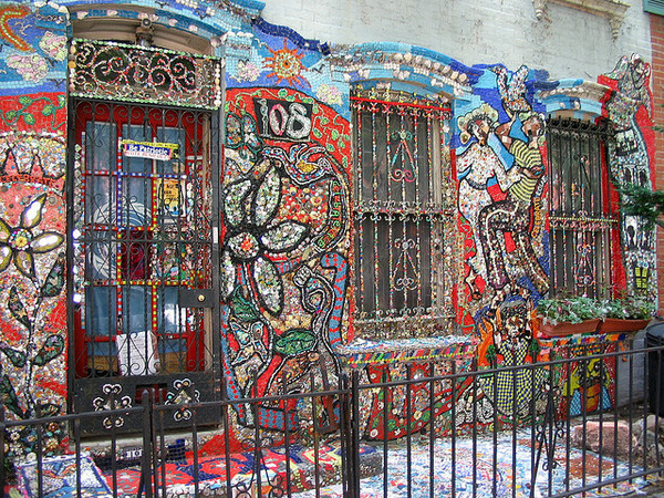 wyckoff street mosaic brooklyn new york atlas obscura. Black Bedroom Furniture Sets. Home Design Ideas