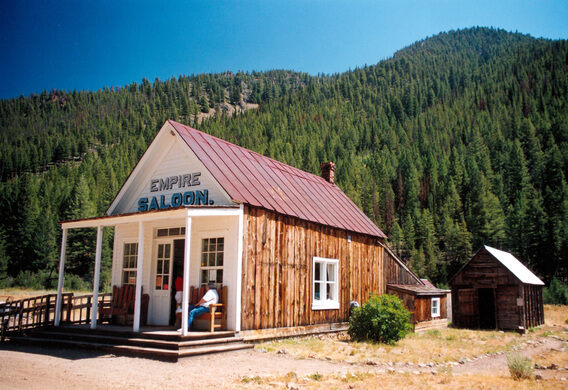 Custer Ghost Town – Stanley, Idaho - Atlas Obscura