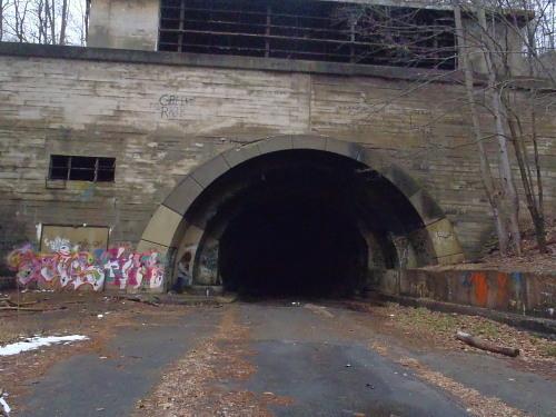 Abandoned Pennsylvania Turnpike Breezewood Pennsylvania