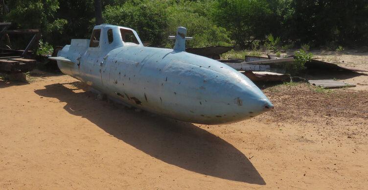 Sea Tigers Submarine Yard – Puthukkudiyiruppu, Sri Lanka