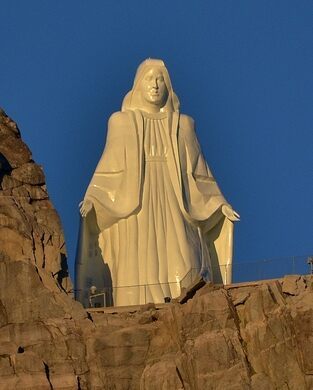 our lady of the rockies butte montana atlas obscura