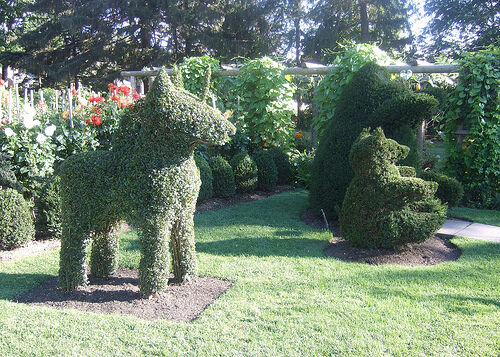 httpwwwflickrcomphotosbsearles1304 - Green Animals Topiary Garden