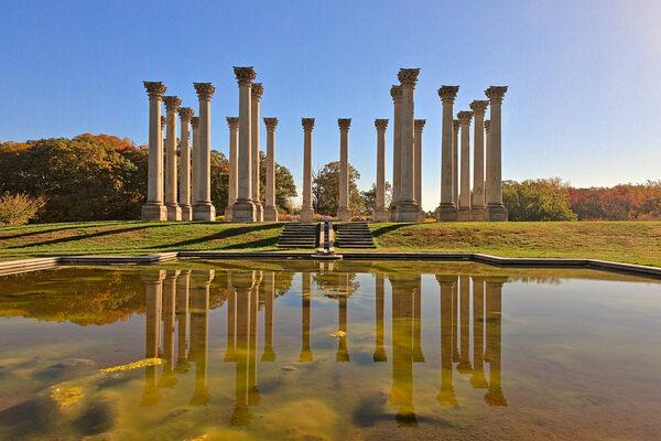 National Capitol Columns Washington D C Atlas Obscura