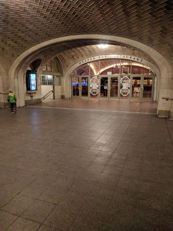 Grand Central Terminal Whispering Gallery New York New