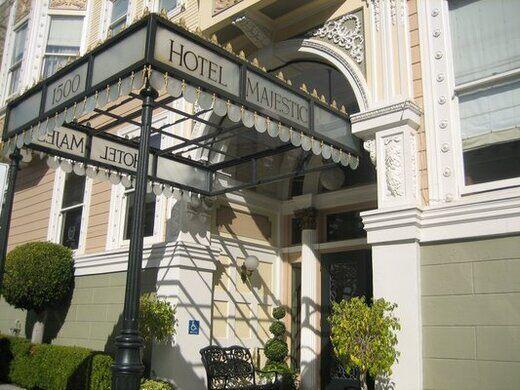 Hotel Majestic – San Francisco, California - Atlas Obscura