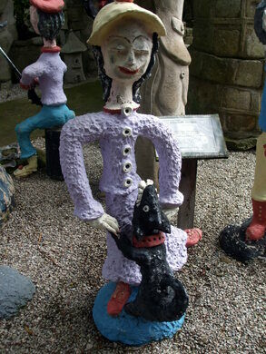 Lawn Ornaments Or Automotive Outsider >> Rectory Nurseries Ashton In Makerfield England Atlas Obscura