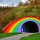 The Rainbow Tunnel.