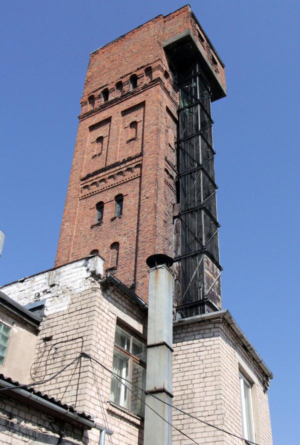 daugavpils shot tower  u2013 daugavpils  latvia