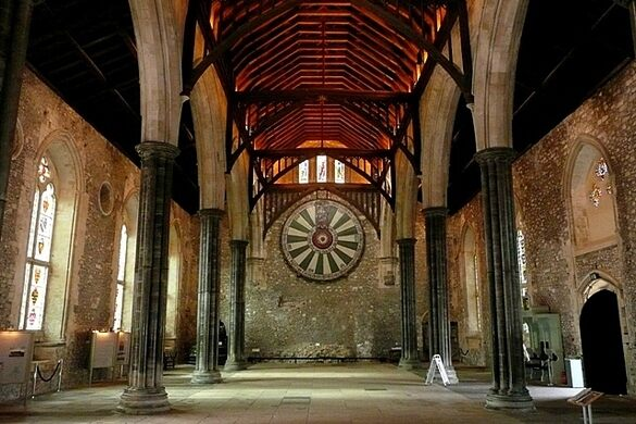 Winchester Round Table, Winchester Cathedral Round Table