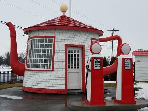 Teapot Dome Service Station Zillah Washington Atlas Obscura