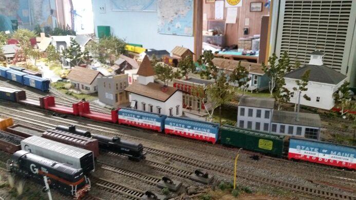 Maine Central Model Railroad – Jonesport, Maine - Atlas Obscura