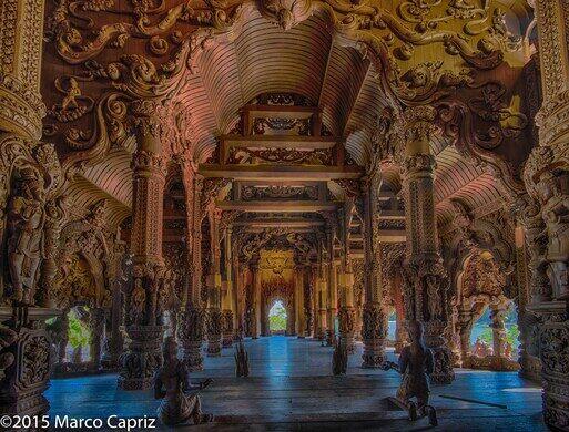 Sanctuary Of Truth Pattaya Thailand Atlas Obscura
