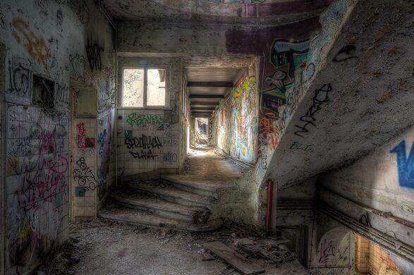 Weissensee Abandoned Children's Hospital – Berlin, Germany