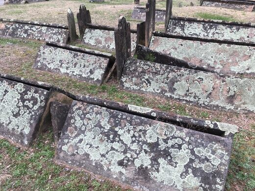 Rows of tents. satxwdavis (Atlas Obscura User) & Tent Graves of Mt. Gilead Cemetery u2013 Sparta Tennessee - Atlas Obscura