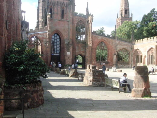 Coventry Cathedral Ruins – Coventry, England - Atlas Obscura