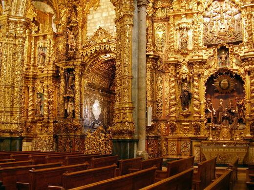 Igreja De S 227 O Francisco Porto Portugal Atlas Obscura