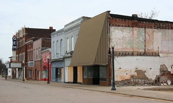 Abandoned Town Of Cairo Illinois Cairo Illinois