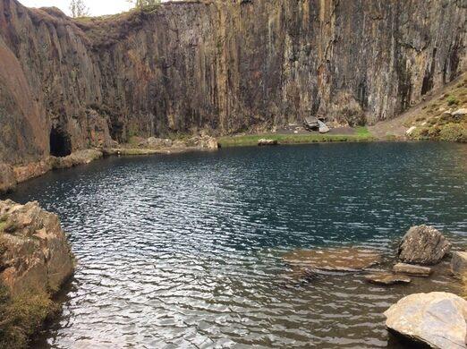 The Blue Lake – Gwynedd, Wales - Atlas Obscura
