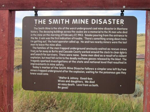 Remnants of the Smith Mine Disaster – Red Lodge, Montana - Atlas Obscura
