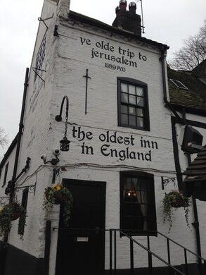 Ye Olde Trip to Jerusalem – Nottingham, England - Gastro Obscura