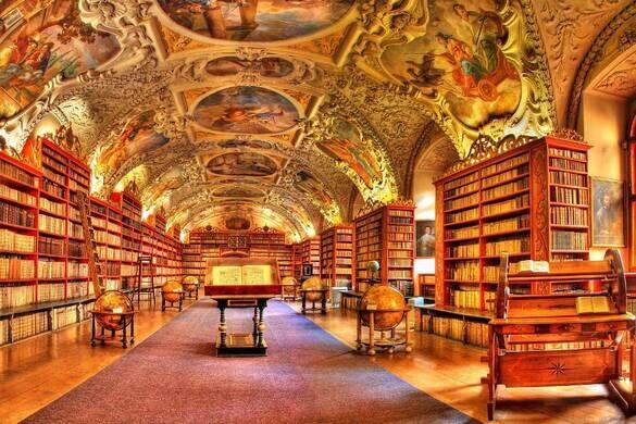 Risultati immagini per strahov library