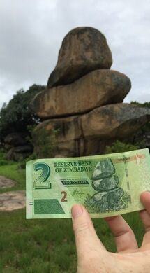 Worthy Of Notes Harare S Balancing Rocks And The Inspiration For Zimbabwe Currency Gordonpeake Atlas Obscura User