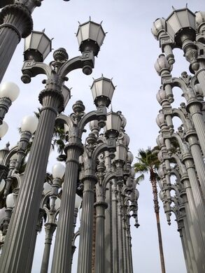 Urban Light – Los Angeles, California - Atlas Obscura