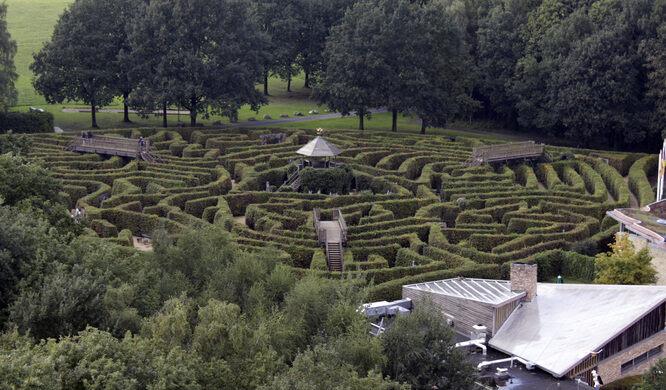 Labyrint Drielandenpunt – Vaals, Netherlands - Atlas Obscura