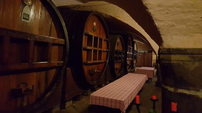 Historic Wine Cellar Of Strasbourg Hospital Strasbourg