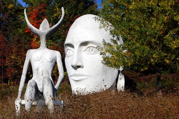 Taconic Sculpture Park – Chatham, New York - Atlas Obscura