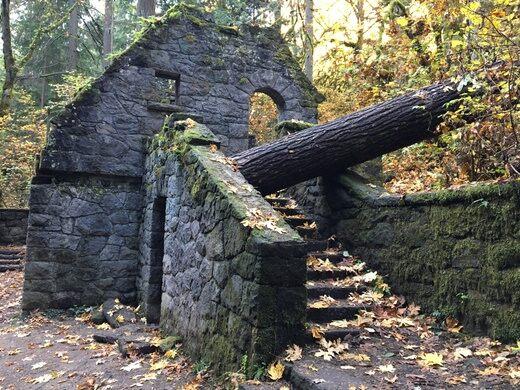 The Witch's Castle – Portland, Oregon - Atlas Obscura