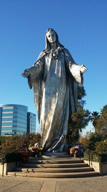 Keys Made Near Me >> Shrine of Our Lady of Peace – Santa Clara, California - Atlas Obscura