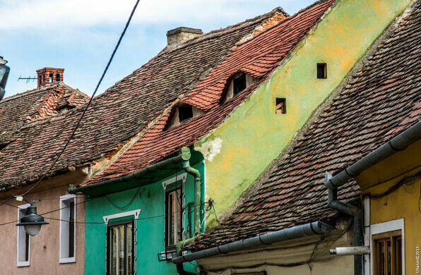 Sibiu S Houses With Eyes Sibiu Romania Atlas Obscura
