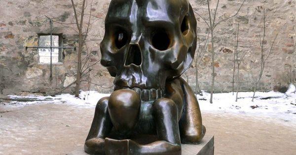 Podobenství S Lebkou Parable With Skull Prague Czechia Atlas