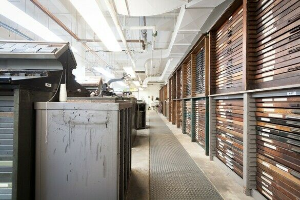 Arion Press and M & H Type – San Francisco, California