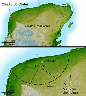 Worksheet. Chicxulub Crater  Mexico  Atlas Obscura