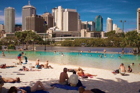Streets Beach - Brisbane, Australia - Atlas Obscura