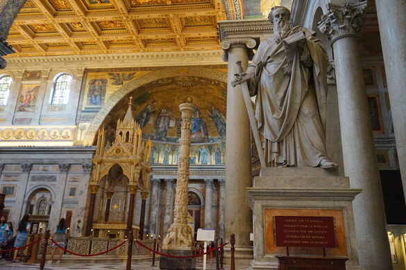 Basilica Of Saint Paul Outside The Walls Rome Italy