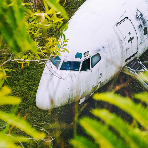 Bali's (Other) Abandoned Plane