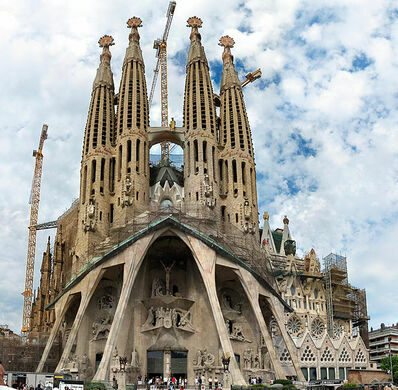 Sagrada fam lia barcelona spain atlas obscura for La sagrada familia spain