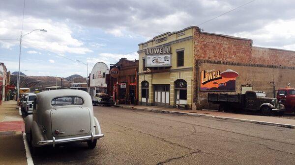 Erie Street Historic Lowell Bisbee Arizona Atlas Obscura