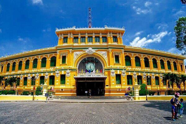 Saigon Vietnam Reproduction Town  Metal Sign